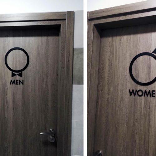 Σήμανση WC